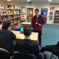 Thanks To Past Pupil Shane Rafferty Who Spoke To Post 16s Today About His Higher Level Appreciateship In Software Engineering With Kainos