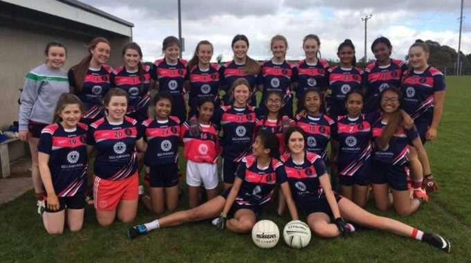 U16 Girls Gaelic Win At Fintona Blitz!